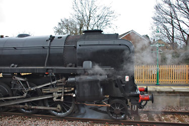 9F at East Grinstead - Steve Lee - 16 March 2013