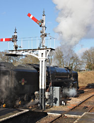 9F leaving Horsted Keynes - Steve Lee - 1 January 2013