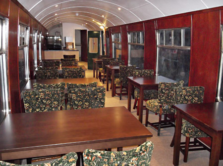 Restaurant car at East Grinstead - Tim Baker - 19 March 2013