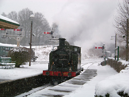 E4 approaches Horsted on test run - Mick Ralph - 20 January 2013