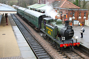 E4 at Sheffield Park - Steve Lee - 5 January 2013