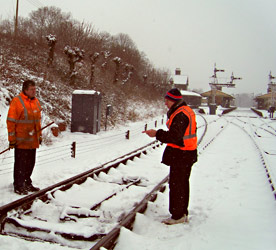 Roy and David discuss the points at Horsted Keynes - Mick Ralph - 20 January 2013