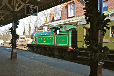 H-class at Sheffield Park - Steve Lee - 1 January 2013