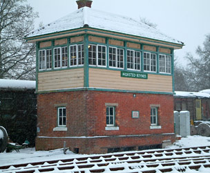 Horsted Keynes 'box in the snow - David Chappell - 20 January 2013
