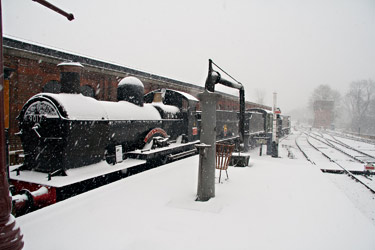 Dukedog in the snow at Sheffield Park - John Sandys - 18 January 2013