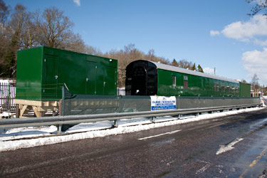 Toilet facilities and new coach at East Grinstead - John Sandys - 12 March 2013