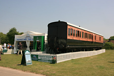 LSWR coach at Ardingly, South of England Show - Tony Sullivan - 6 June 2013