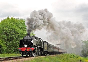 1638 leaving Sheffield Park - Derek Hayward - 1 June 2013