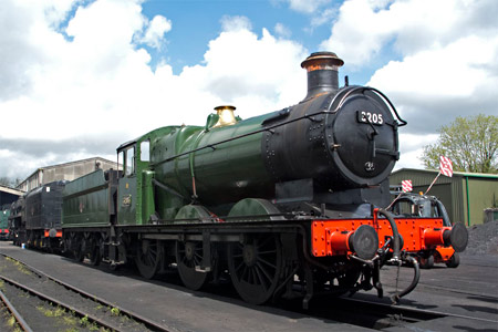 GWR 3205 at Sheffield Park - Martin Lawrence - 9 May 2013