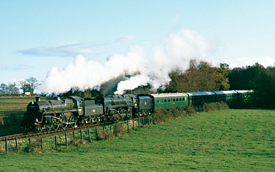 75027 & 92240 double-heading - David Haggar - Autumn 2000