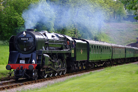 9F at West Hoathly - Peter Austin - 26 May 2013
