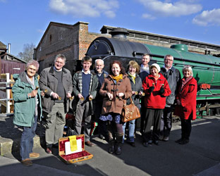 Bell Ringsers on tour at SP - Derek Hayward - 6 April 2013