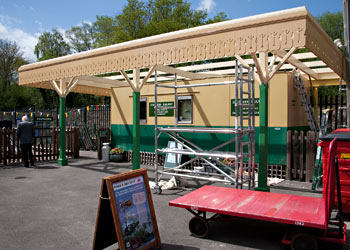 Extending the canopy at Sheffield Park - John Sandys - 10 May 2013
