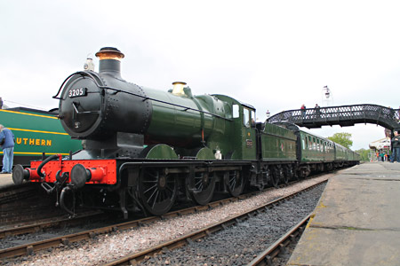 3205 at Sheffield Park - Nathan Gibson - 21 May 2013
