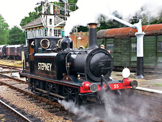 Stepney at Horsted Keynes - Martin Lawrence - 23 June 2013