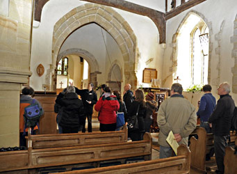 Tour of St Giles Church, Horsted Keynes - Derek Hayward - 6 April 2013