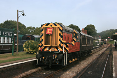09 with Branch Line Society special train - Tony Sullivan - 1 Sept 2013