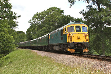 33103 at Vaux End - Steve Lee - 30 June 2013