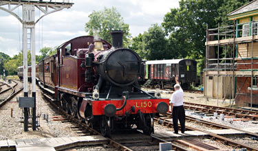 L.150 at Horsted Keynes - John Sandys - 13 Aug 2013