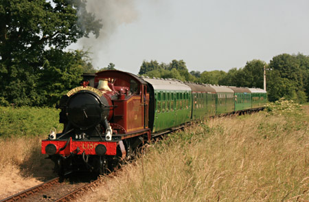 L150 soon after leaving Sheffield Park - Tony Sullivan - 11 July 2013