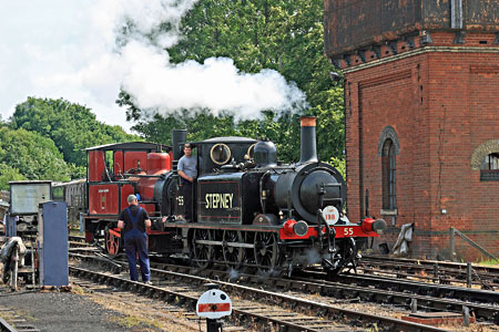 Stepney and Baxter at Sheffield Park - Yoshi Hashida - 29 June 2013