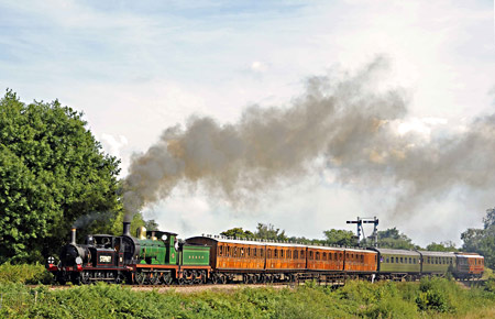 Stepney and the C at Poleay Bridge - Derek Hayward - 26 August 2013