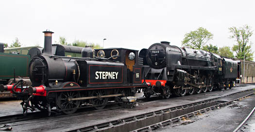 55 and 92212 prepared for the weekend - John Sandys - 13 September 2013