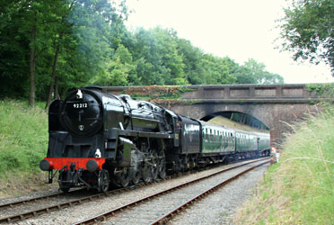 92212 at Leanland Bridge - Phil Horscroft - 20 July 2013