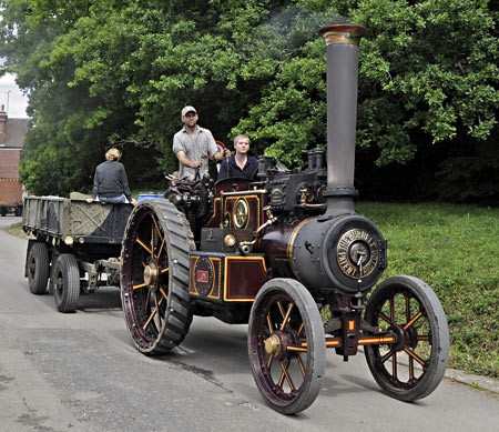 Burrell road locomotive 'Lion' - Derek Hayward - 10 August 2013