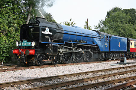 Tornado on Bluebell metals at East Grinstead - John Sandys - 10 September 2013