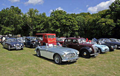 Cars at Horsted Keynes for the Vintage Weekend - Derek Hayward - 10 Aug 2013