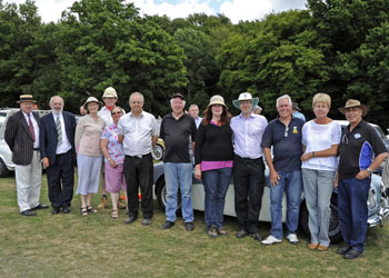 The organising team for the Vintage Weekend - Derek Hayward - 11 Aug 2013