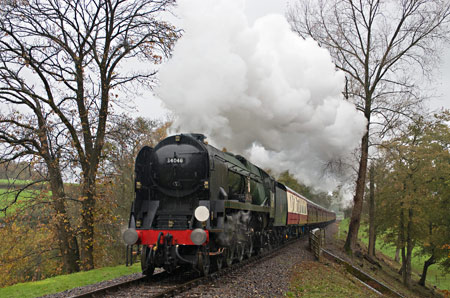 Braunton on the Bluebell at Birchstone - David Haggar - 9 November 2013