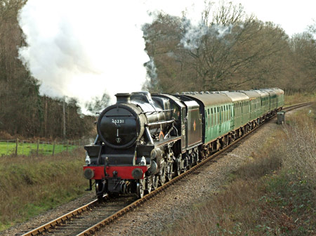 Black 5 at Holywell - Ashley Smith - 28 December 2013