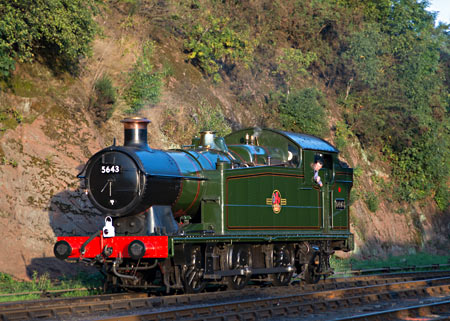 5643 on the Severn Valley - David Haggar - 22 September 2013