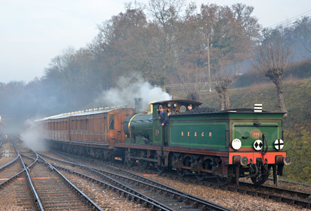 592 with Victorian Special - Andrew Crampton - 12 December 2013
