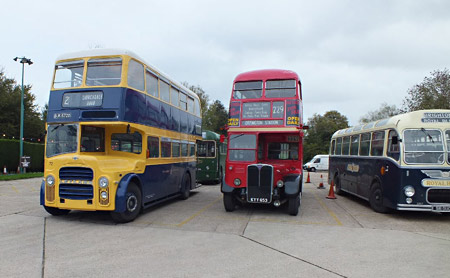 Buses at Sheffield Park - Keith Duke - 27 October 2013