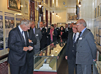 The Duke in the Museum - Derek Hayward - 10 October 2013