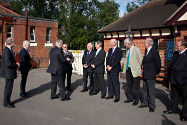 HRH The Duke of Gloucester meets the NEP volunteers - John Sandys - 10 Oct 2013