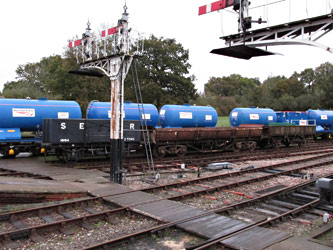 Network Rail wagons in transit - John Sandys - 31 Oct 2013
