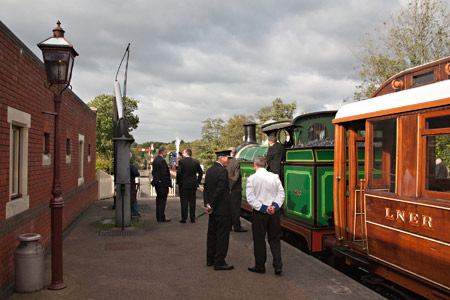 The Royal Train waiting to leave Sheffield Park - John Sandys - 10 October 2013