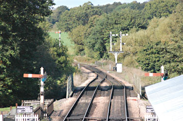 The array of LBSCR Signals to the north of Sheffield Park - Mark Tickner - 6 Oct 2013