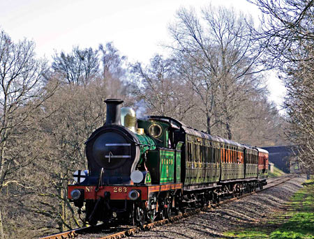 H-class with the Edwardian set at Mill Place Farm - Derek Hayward - 9 March 2014