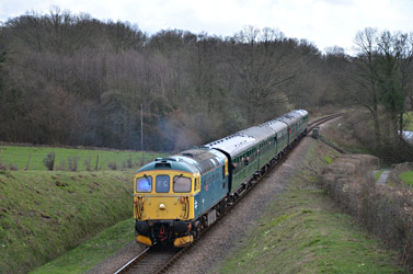 33103 Swordfish at the Diesel Gala - Andrew Crampton - 21 March 2014