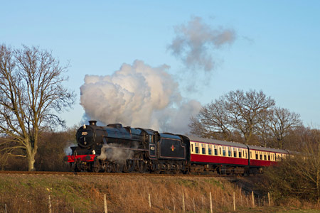 Black 5 No.45231_with B&C carriages - David Haggar - 26 February 2014