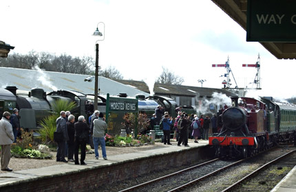 SR and GW pairings at Horsted Keynes - Richard Salmon - 22 March 2014