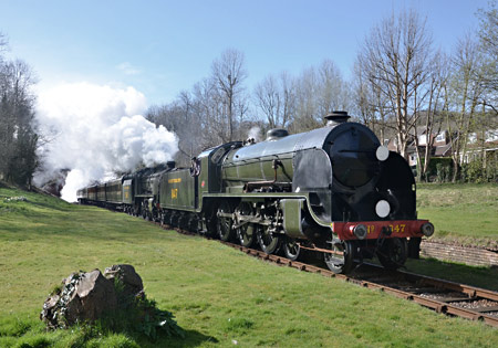 S15 and U at West Hoathly - Andrew Crampton - 22 March 2014