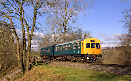 DMU running our current special service - Paul Pettitt - 19 January 2014