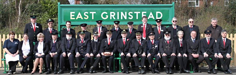 East Grinstead Station Staff official photo - 23 March 2014