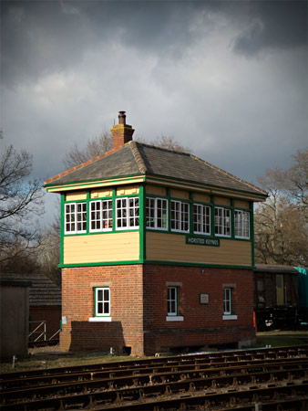 Horsted Keynes signal box - Martin Lawrence - 9 February 2014